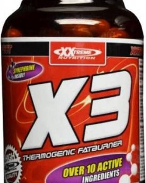 Xxlabs XXTREME NUTRITION X3 - Thermogenic Fatburner 120 kapslí