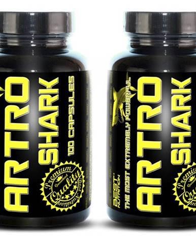 1+1 Zadarmo: Artro Shark od Best Nutrition 100 kaps + 100 kaps