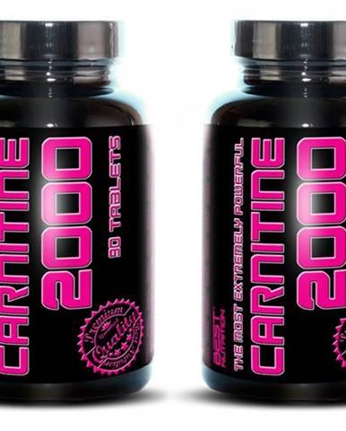 1+1 Zadarmo: Carnitine 2000 od Best Nutrition 90 tbl. + 90 tbl.