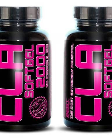 1+1 Zadarmo: CLA 2000 od Best Nutrition 60 kaps. + 60 kaps.