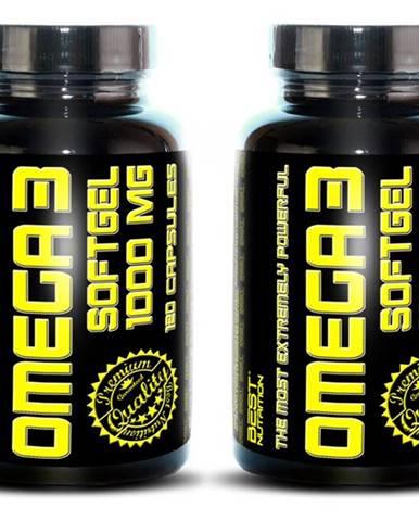 1+1 Zadarmo: Omega 3 od Best Nutrition 120 kaps. + 120 kaps.