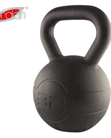 Litinový kettlebell JORDAN Fitness Cast Iron 32 kg