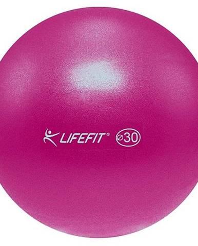 Míč OVERBALL LIFEFIT 30cm, bordó