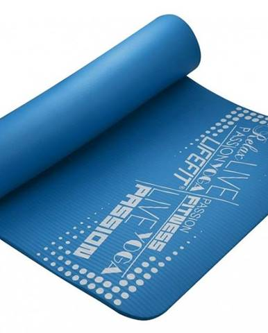 Podložka LIFEFIT YOGA MAT EXKLUZIV , 100x58x1cm, modrá