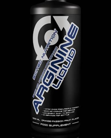 Scitec Nutrition Arginine Liquid 1000 ml 1000ml Pomeranč