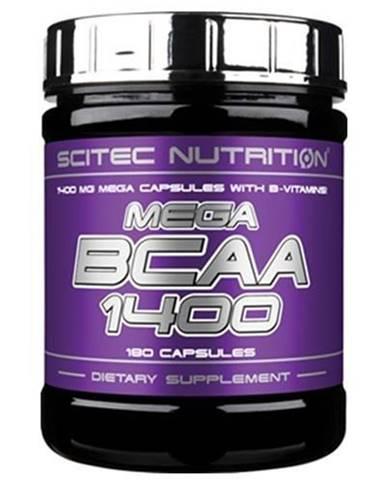 Scitec Nutrition Mega BCAA 1400 180 tablet 180cps