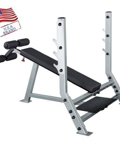 Zaklonená profesionálna posilňovacia lavica Body Solid SDB351G