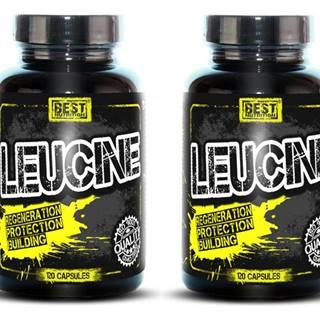 1+1 Zadarmo: Leucine od Best Nutrition 120 kaps. +  120 kaps.