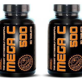 1+1 Zadarmo: Mega C 500 + šípky od Best Nutrition 90 tbl. + 90 tbl.