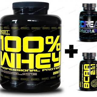 100% Whey Professional Protein - Best Nutrition 1000 g Banán