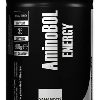 AminoBol Energy (predtréningová BCAA formula) - Yamamoto 300 g Orange-Lemon