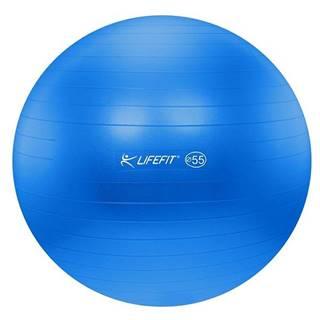 Gymnastický míč LIFEFIT ANTI-BURST 55 cm, modrý