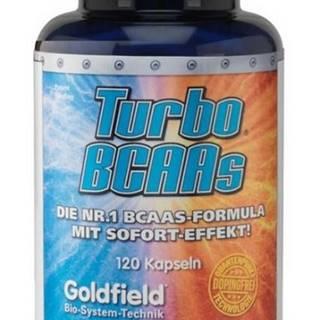 Turbo BCAAs - Goldfield 120 kaps.