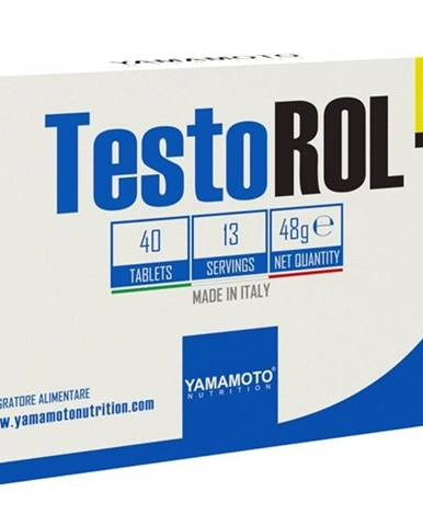TestoROL (stimuluje produkciu testosterónu) - Yamamoto 40 tbl.