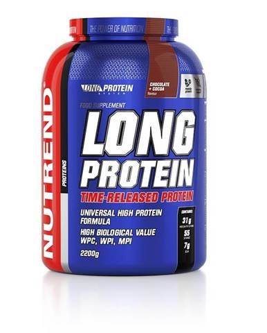 Práškový koncentrát Nutrend Long Protein s BCAA 2200g čokoláda-kakao
