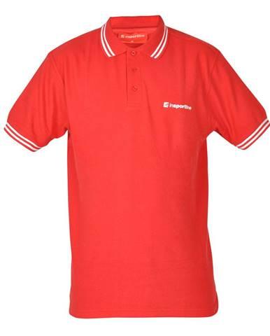 Športové tričko inSPORTline Polo červená - S