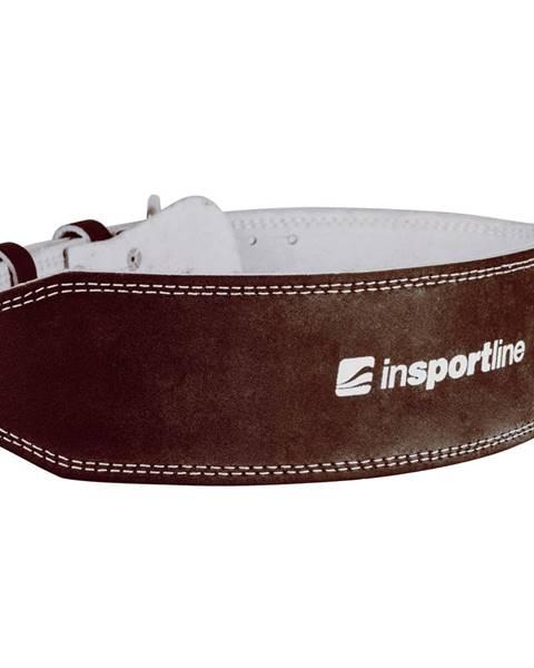 Insportline Kožený vzpieračský pás inSPORTline NF-9054 hnedá