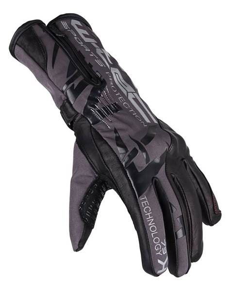 W-Tec Moto rukavice W-TEC Kaltman čierno-šedá - S
