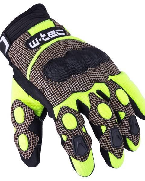 W-Tec Motokrosové rukavice W-TEC Derex čierno-žltá - S
