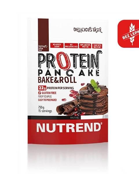 Nutrend Proteinové palacinky Nutrend Protein Pancake 750g čokoláda-kakao