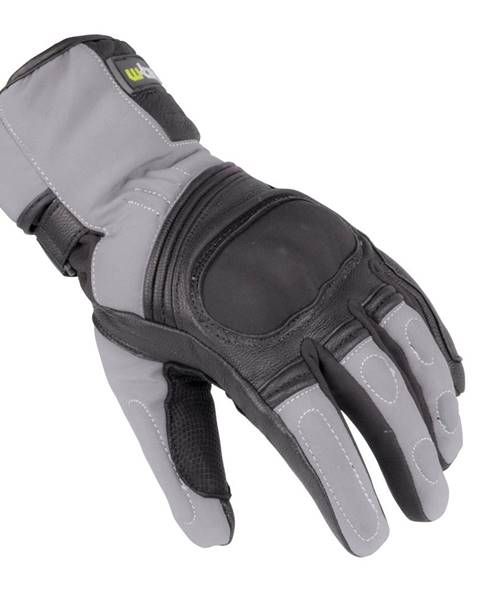 W-Tec Zimné moto rukavice W-TEC NF-4004 šedo-čierna - S