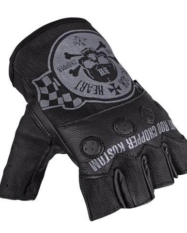 Moto rukavice na chopper W-TEC Black Heart Wipplar čierna - XS