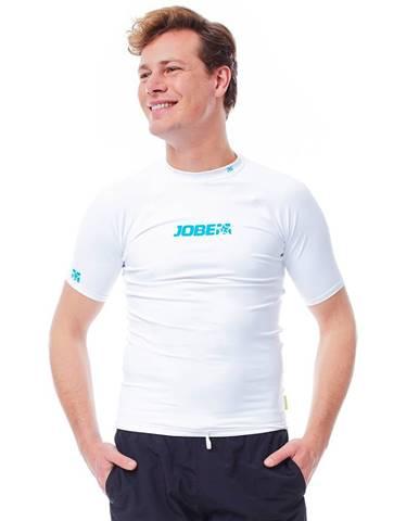 Pánske tričko na vodné športy Jobe Rashguard 7050 biela - S
