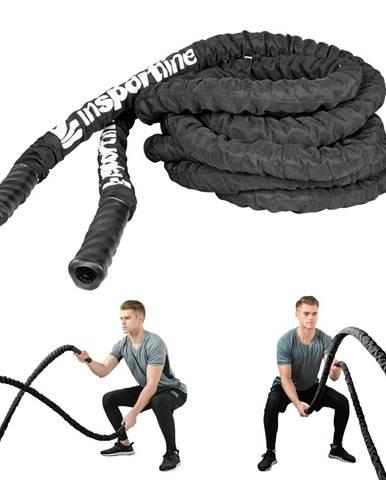 Posilňovacie lano inSPORTline Wave Rope 38 mm - 9 m