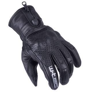 Pánske moto rukavice W-TEC Swaton čierna - S