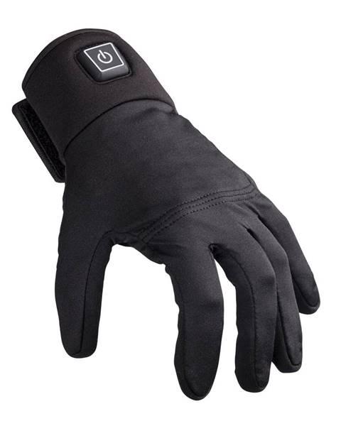 Glovii Vyhrievané moto rukavice Glovii GM2 čierna - S-M