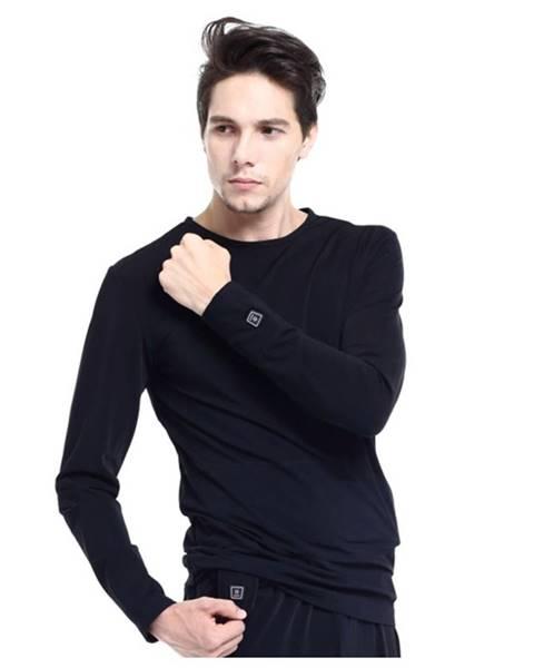 Glovii Vyhrievané tričko s dlhým rukávom Glovii GJ1 čierna - S