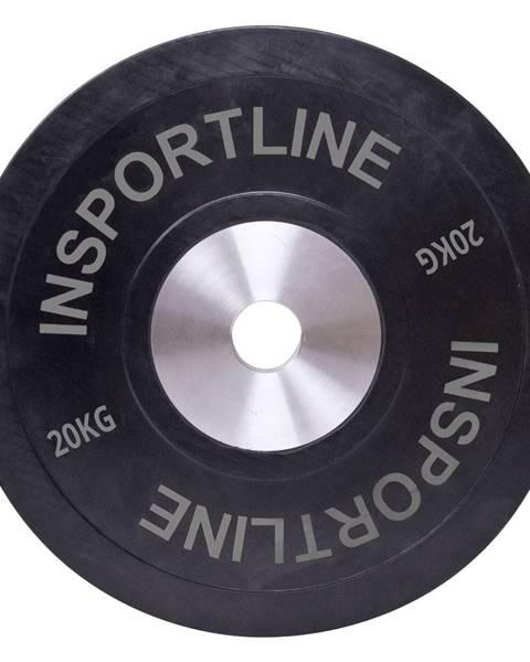 Insportline Gumový kotúč inSPORTline Bumper Plate 20 kg