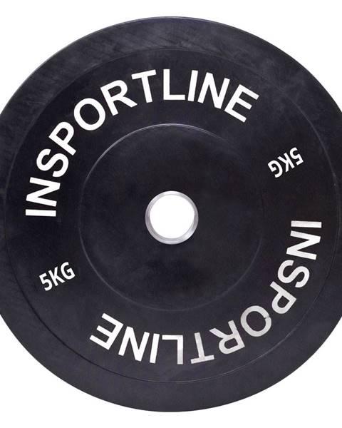 Insportline Gumový kotúč inSPORTline Bumper Plate 5 kg