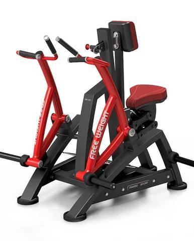 Posilňovací stroj na chrbtové svaly Marbo Sport MF-U017 červená