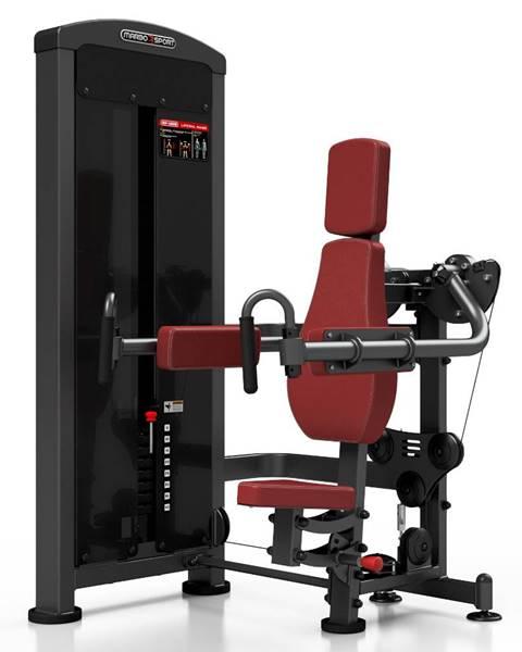 MARBO Posilňovací stroj - ramená v sede Marbo Sport MP-U228 červená