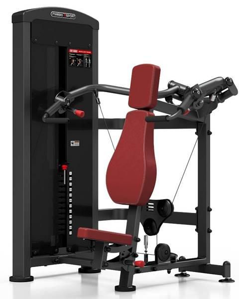 MARBO Posilňovací stroj - tlaky na ramená Marbo Sport MP-U226 červená
