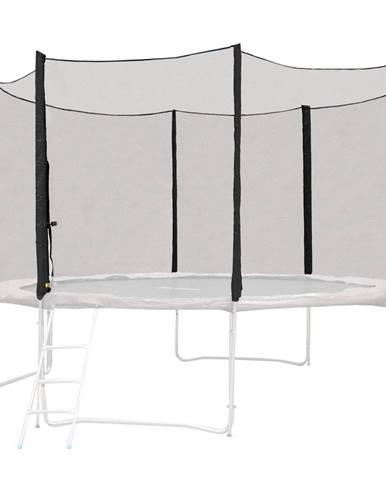 Ochranná sieť pre trampolínu inSPORTline Froggy PRO 305 cm - 8 tyčí čierna