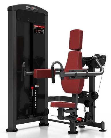 Posilňovací stroj - ramená v sede Marbo Sport MP-U228 červená