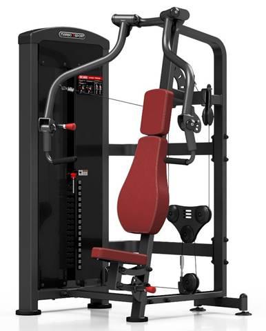 Posilňovací stroj - tlaky na prsia Marbo Sport MP-U225 červená