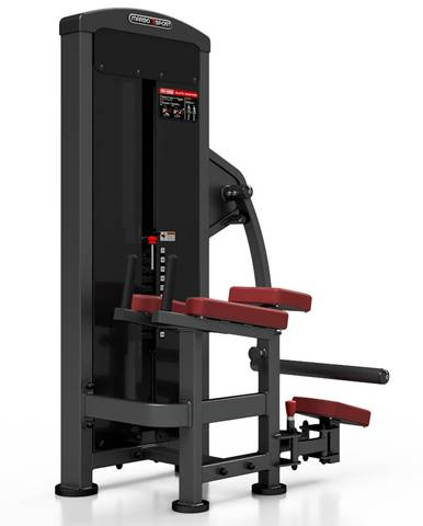 Posilňovací stroj - zanožovanie Marbo Sport MP-U222 červená