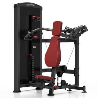 Posilňovací stroj - tlaky na ramená Marbo Sport MP-U226 červená