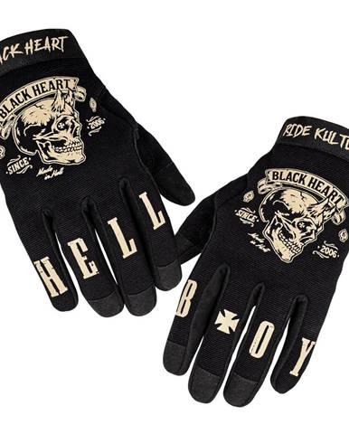 Moto rukavice W-TEC Black Heart Rioter čierna - S