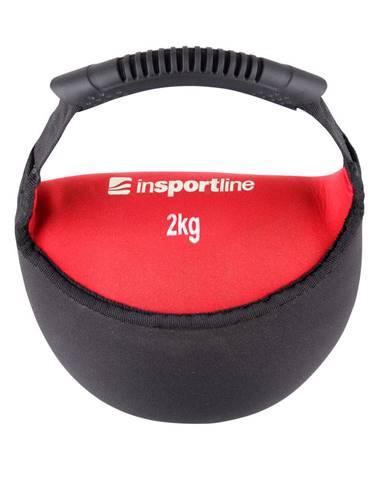 Neoprénová činka inSPORTline Bell-bag 2kg