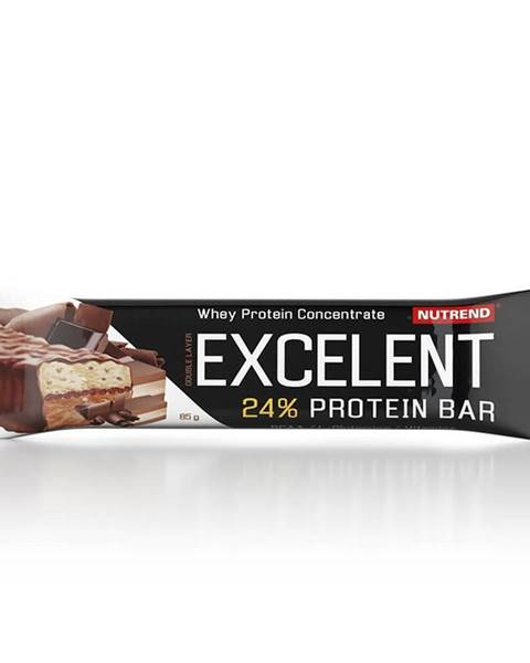 Nutrend Proteínová tyčinka Nutrend Excelent Bar Double, 40 g čokoláda+nugát s brusinkami