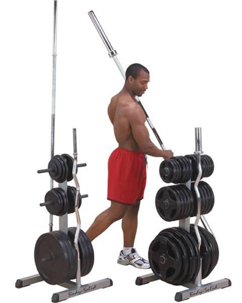 Body-Solid Stojan na tyče a závažia Body-Solid GOWT Olympic 2v1