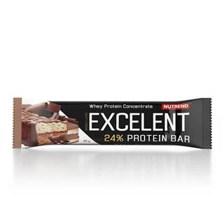 Proteínová tyčinka Nutrend Excelent Bar Double, 40 g čokoláda+nugát s brusinkami