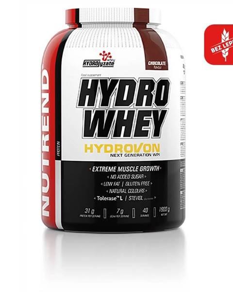 Nutrend Izolát natívnej srvátkovej bielkoviny Nutrend Hydro Whey 1600g čokoláda