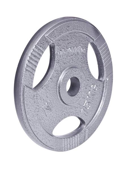 Insportline Liatinový olympijský kotúč inSPORTline Hamerton 15 kg