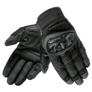 Kožené moto rukavice Rebelhorn Gap II CE čierna - XS