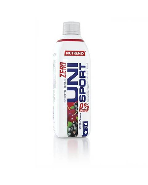 Nutrend Hypotonický nápoj Nutrend Unisport Zero 1000 ml višňa - čierna rýbezľa